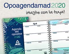 Agenda del opositor 2020 - Hazte con la tuya